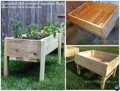 DIY Elevated Raised Garden Bed-20 DIY Raised Garden Bed Ideas Instructions