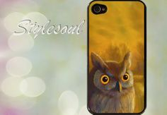 Owl iPhone 4 / 4S Case iPhone 5 Case by stylesoul on Etsy, $14.99