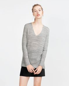 V-NECK SWEATER-View all-Woman-NEW IN | ZARA United States