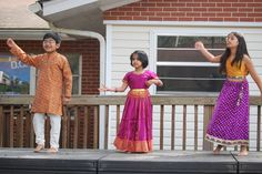 Students share Indian Dance during talent show and International Luncheon.