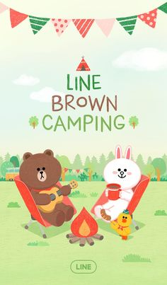 Take your screens to the outdoors in this fun and cute natural green theme. All your favorite LINE friends are here to help you get in touch with nature! Lines Wallpaper, Wallpaper Iphone Cute, Cartoon Wallpaper, Cute Wallpapers, Line Cony, Cute Couple Cartoon, Cute Love Pictures, Brown Line, Bunny And Bear