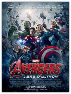 Avengers 2 : l'affiche du film enfin dévoilée ! - News films Vu sur le web - AlloCiné