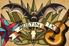 Austin, Texas Usa Tattoo, Event Themes, Heaven On Earth, Austin Tx, Houston, Weird, How To Memorize Things, Design Inspiration, History