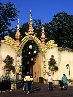 Entrance to the Efteling Dreamflight