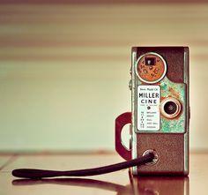 Vintage / Retro / Camera: This vintage 8mm movie camera is a classic piece of retro history!