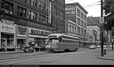 Woolworth / Trolley. - vintage Johnstown Pa