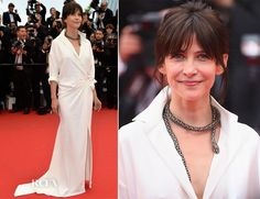 Sophie Marceau In Alexandre Vauthier Couture -  'Mad Max Fury Road' Cannes Film Festival Premiere