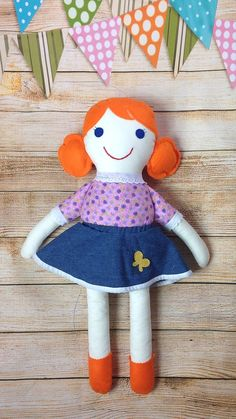 Soft Doll Fabric Doll Cloth Doll First Doll by Rag Dolls, Fabric Dolls, Selling On Pinterest, Soft Dolls, Mild Soap, Girl Gifts, Doll Clothes, Birthday Gifts, Cotton Fabric