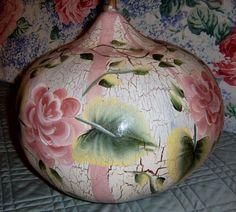 Shabby Chic Rose Gourd