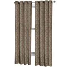 Marthawindow Hampton Lattice Grommet Top Curtain Panel