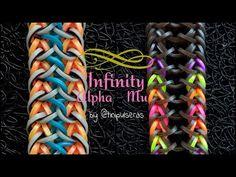Rainbow Loom Easy, Rainbow Loom Bracelets Easy, Loom Band Bracelets, Rainbow Loom Tutorials, Rainbow Loom Patterns, Rainbow Loom Creations, Rainbow Loom Bands, Rainbow Loom Charms, Rainbow Crafts