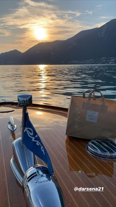 Riva Boat, Bellini, Italy, Sunset, Italia, Sunsets, The Sunset, Bellinis