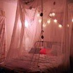 String Lights In The Bedroom   Apartment Therapy