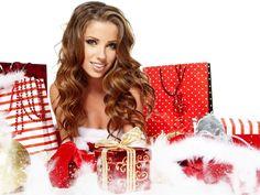 christmas girl wallpapers hd
