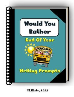This packet includes 15 Would You Rather writing prompts. For your convenience, two versions of the Would You Rather writing prompts have been included. You can copy the journal pages for each student in your class. Writing Prompts For Kids, Teaching Writing, Teaching Tools, Writing Ideas, Teaching Ideas, End Of Year Activities, 3rd Grade Classroom, End Of School Year, Teaching Language Arts