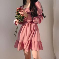 Uploaded by ✥ 도넛걸 ✥. Find images and videos about girl, fashion and style on We Heart It - the app to get lost in what you love. Pink Outfits, Pretty Outfits, Pretty Dresses, Cute Outfits, Summer Outfits, Summer Dresses, Cute Fashion, Look Fashion, Girl Fashion