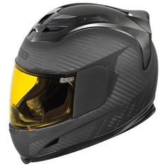 Icon Airframe Ghost Carbon Helmet at RevZilla.com