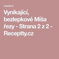 Vynikající, bezlepkové Míša řezy - Strana 2 z 2 - Receptty.cz