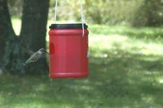 Easy DIY Hummingbird Feeder | Ziggity Zoom