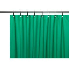 Carnation Home Hotel Collection, 8 Gauge Vinyl Shower Curtain Liner w/ Weighted Magnets and Metal Grommets in Light Blue Hotel Shower Curtain, Vinyl Shower Curtains, Striped Shower Curtains, Shower Curtain Hooks, Shower Liner, Cleaning Wipes, House Styles, Light Blue