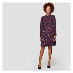Flounce Shirt dress from Joe Fresh. Our latest shirt dress features a mandarin collar and ruffled asymmetrical hem for a perfect weekday look. Model measures approximately 5'10