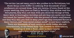"A.W. Pink (1886-1952) After Pink's death, his works were republished by the Banner of Truth Trust and reached a much wider audience as a result. Biographer Iain Murray observes of Pink, ""the widespread circulation of his writings after his death made him one of the most influential evangelical authors in the second half of the twentieth century."" His writing sparked a revival of expository preaching and focused readers' hearts on biblical living."