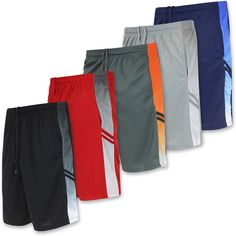 Real Essentials Men's Active Athletic Performance Shorts with Pockets - 5 Pack Sale price$65.00 Regular price$98.00 #aerobicsnexthopeyallready #aerobicsgymnastics #aerobicsinstructor #aerobicgymnastics