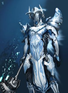 Isn't he looks gorgeous? I like him so mush, so I know many of people want ash prime next to volt prime, but I wish oberon prime had come. I weared daedalus chestplates, pyra prime syandana, ...