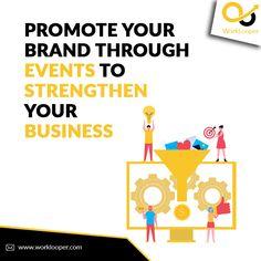 Promote Your Brand Through Events to Strengthen Your Business #EventBrand #Events #Event #EventAgency #EventPlanning #EventBranding #EventMarketing #Business #BusinessPlan #PromoteBrand Branding Services, Event Branding, Branding Agency, Business Branding, Effective Marketing Strategies, Event Agency, Brand Promotion, Event Marketing, Creativity And Innovation