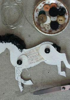 How to make a cardboard horse. I plan to use this with the Horse and His Boy Literature Kit as a craft.