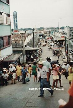 Mercados de Tampico en los 60's