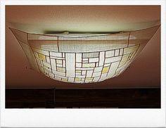 Traditional Lamps, Korean Traditional, Diy Interior, Interior Architecture, Interior Design, Shibori Fabric, Types Of Craft, Fabric Squares, Light Art