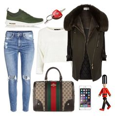 """""""Untitled #1769"""" by moria801 ❤ liked on Polyvore featuring River Island, Burberry, NIKE, H&M, Gucci, Ferrari, women's clothing, women, female and woman"""