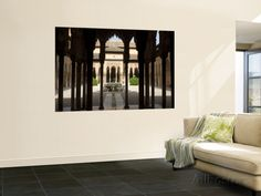 something I want for my room  Patio De Los Leones (Palacios Nazaries in Nasrid Palace, Alhambra Prints by Karl Blackwell at AllPosters.com