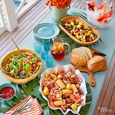 Bring everyone to the table with a classic shrimp boil. Everything cooks in one pot, and there's something for everyone. Complete the look with simple sides like salads and bread. Invite List: 8-10 Guest Type: Seafood-lovers/