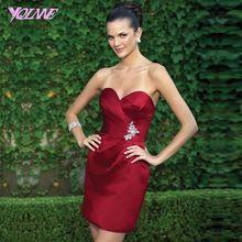 Sexy Licht Wein Roten Cocktail Party Kleider Schatz Fleck Reißverschluss Zurück Formale Frauen Kleiden Short Mini //Price: $US $69.00 & FREE Shipping //     #clknetwork