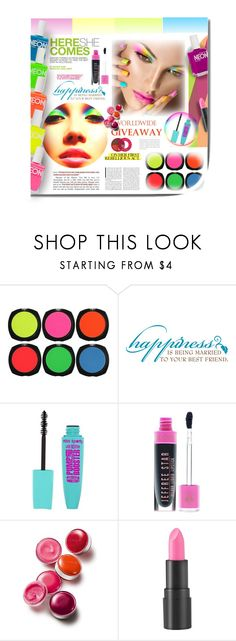 """""""THE COLORS OF SUCCESS!"""" by angelflair ❤ liked on Polyvore featuring beauty, Andrea, Clinique and too cool for school"""