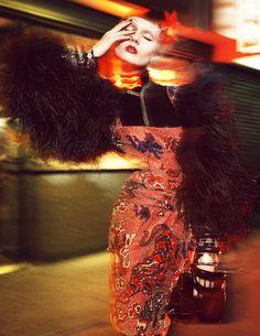 Monika Jagaciak by Greg Kadel for Numero Greg Kadel, Moda Instagram, Photoshoot Inspiration, Style Inspiration, Editorial Photography, Fashion Photography, China Girl, Glamour, Poses