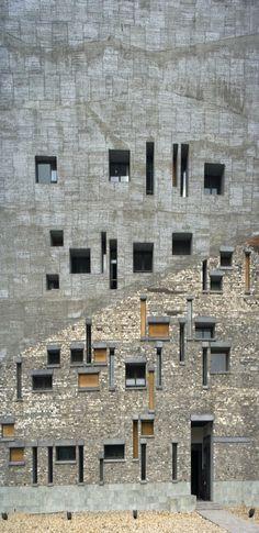 Amateur Architecture Studio - Hangzhou - Architects | chinese-architect... - wang shu - pritzker prize winner 2012
