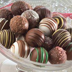 Assorted Chocolate Truffles $29.95 #topseller