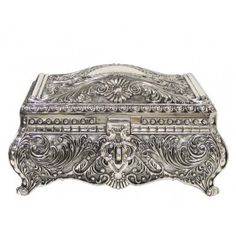 antiquesterlingsilverboxes Jewellery boxes in Antique Sterling