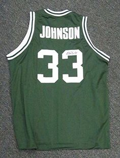 Magic Johnson Signed Autographed Michigan State Spartans Green Basketball Jersey  JSA COA     See this great product. (Note Amazon affiliate link) 106d3eae6