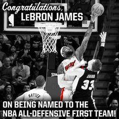 NBA All Defensive First Team!!! 2012/2013 Season
