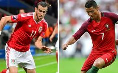 Gareth Bale vs Cristiano Ronaldo - two leaders who will not hide when Wales and Portugal collide in Euro 2016 semi-final || by Carlo Ancelotti