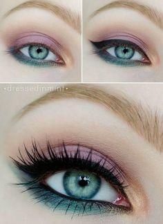 awesome Элегантный макияж для зеленых глаз — П. Mime Makeup, Glam Makeup, Skin Makeup, Makeup Inspo, Makeup Inspiration, Beauty Makeup, Makeup Techniques, Tips Belleza, Makeup Revolution