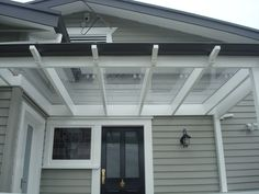 Clear Roofing Over Pergola