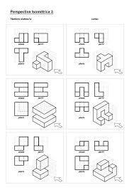 oblique drawing exercises oblique isometric google cad pinterest more oblique drawing. Black Bedroom Furniture Sets. Home Design Ideas