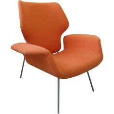 Alvin Lustig Armchair at 1stdibs