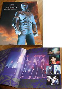 Michael Jackson Tourbook +HIStory World Tour 1996 - KIng of Pop ++ TOP RAR