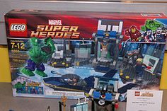 LEGO Marvel Super Heroes - 6868 Hulk's Helicarrier Breakout - 01  389 pieces $49.99 USD $64.99 CAD Available in May Lego Marvel Super Heroes, Lego Sets, Hulk, Comic Books, Superhero, Comics, Toys, Activity Toys, Lego Games